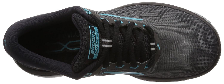 Brooks Womens PureFlow 7 B072HTPQQ3 10.5 B(M) US|Grey/Black/Green