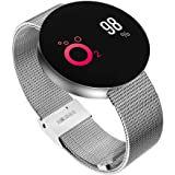 OPTA SB-046 O-MI BAND| HD Color Display Bluetooth Fitness Smartwatch | Multi-Sport Mode & All-in-One Activity Tracker | Blood Pressure| Heart Rate | Sleep Monitor | smart band compatible with Android / IOS Smart phones for Men Women Teens