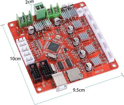 Anet A1284-Tarjeta de Control Base Tarjeta Madre para Anet A6 ...