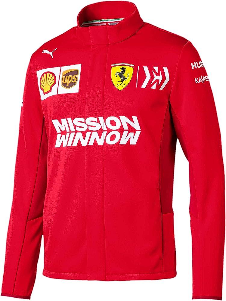 Scuderia Ferrari 2019 F1™ Chaqueta del Equipo Hombre (S): Amazon.es: Ropa y accesorios