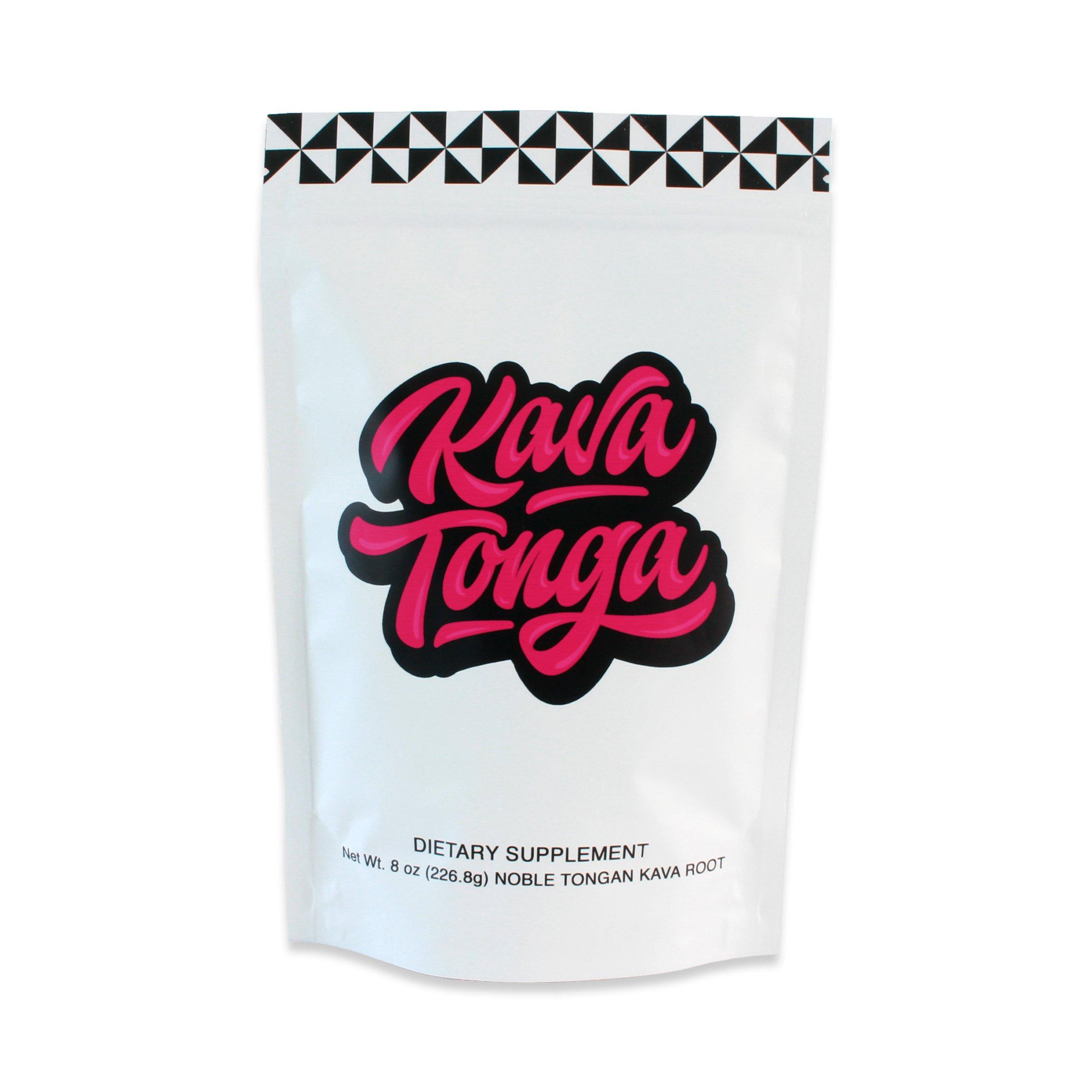 Kavafied KAVA Tonga - Premium Tongan Kava Root Powder (8oz)