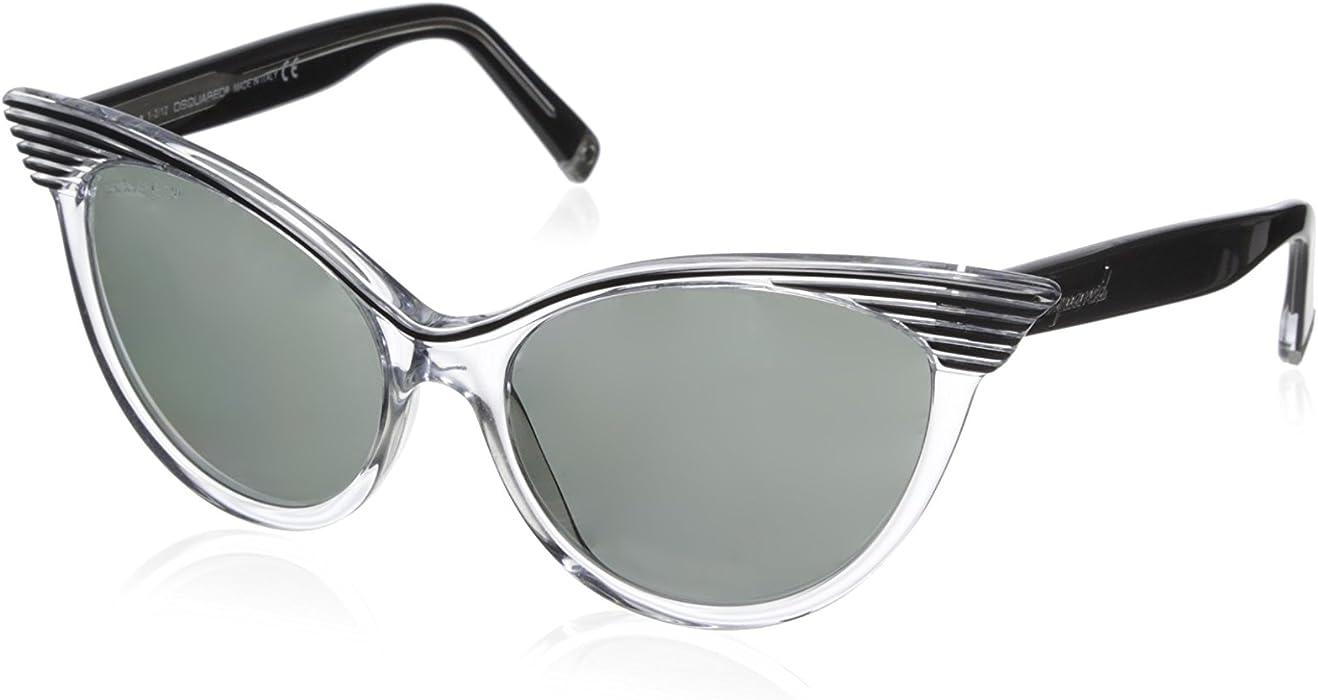 D Squared Gafas de Sol DQ010158 (58 mm) Negro: Amazon.es ...