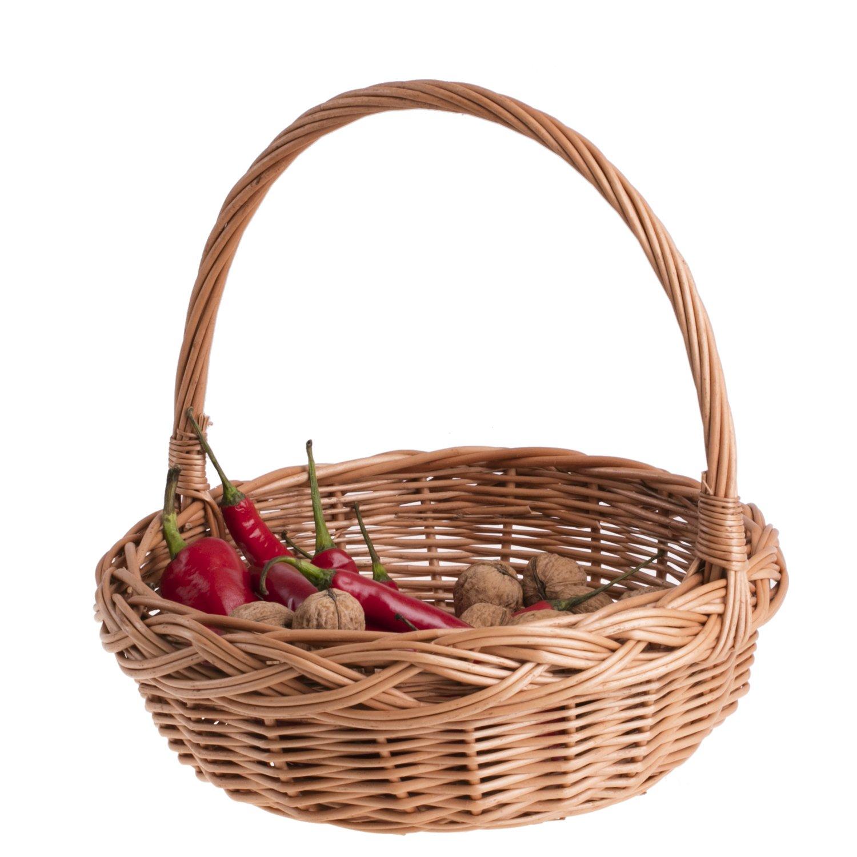 Weidenkorb Geschenkkorb Dekorationskorb Weide Behälter aus Weide