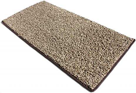 8u0027x10u0027 Chocolate Chip Area Rug. FRIEZE Plush Textured CARPET For  Residential Or