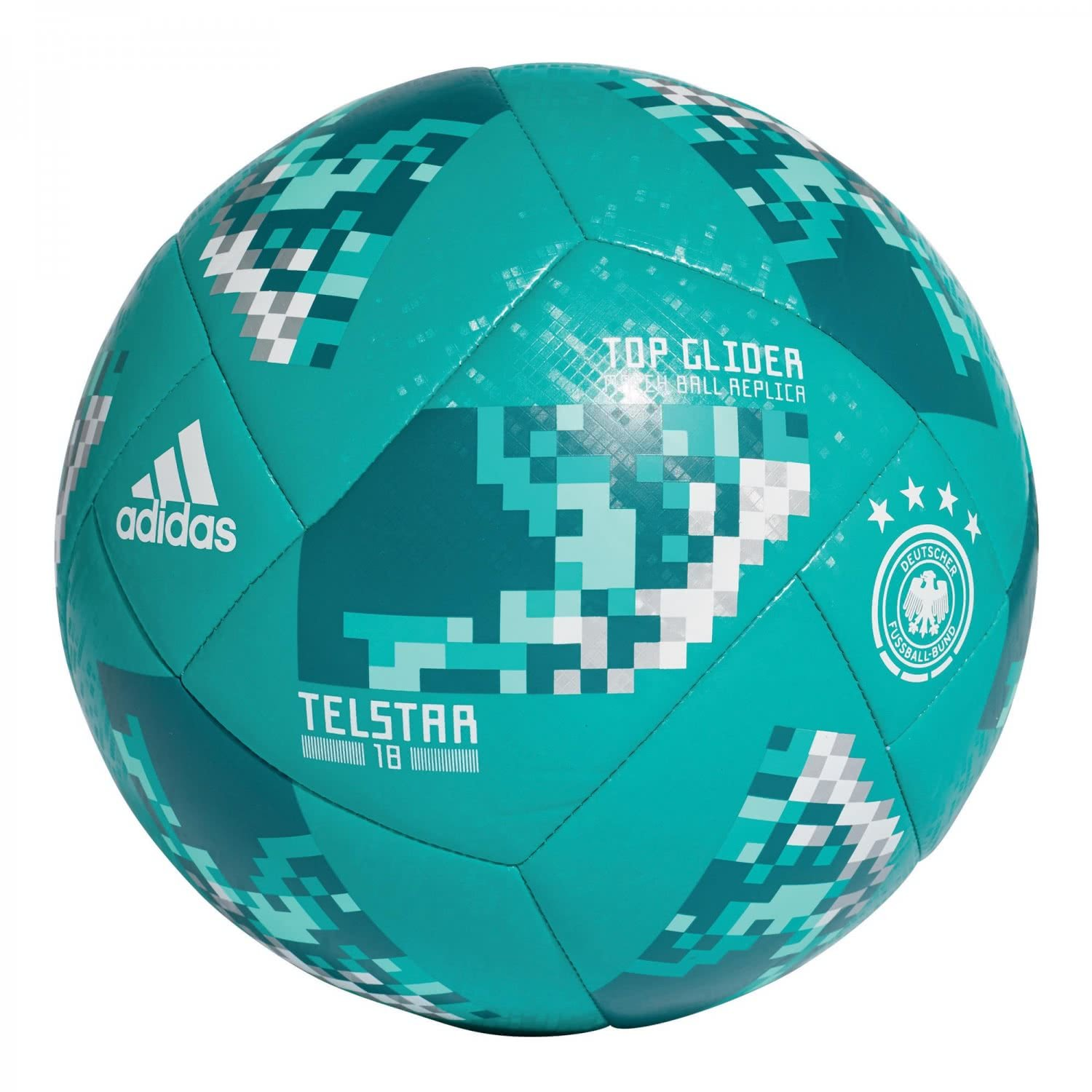 adidas Inodoro 18 DFB Ball, EQT Green/White, 5: Amazon.es ...