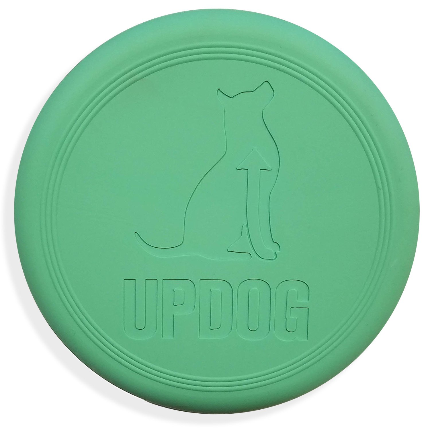 Dog Frisbee | Made in USA | UpDog Products Small 6-Inch Flying Disc for Dogs (Mint Scented)