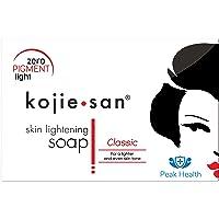 1 x 135G Peak Health Branded äkta Kojie San-tvål. Tillverkas uteslutande för topphälsa