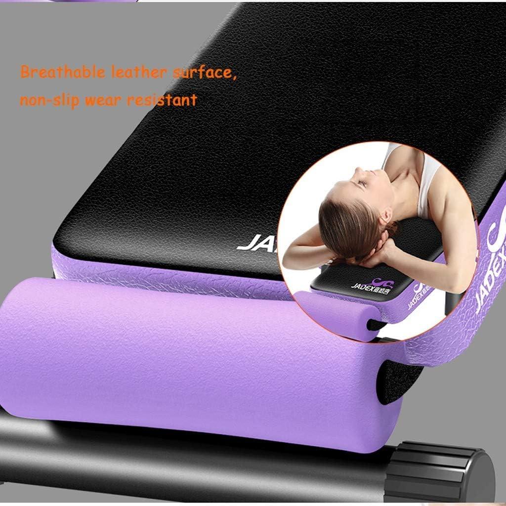 m/áquina de ejercicios abdominales para gimnasio en casa ReunionG M/áquina abdominal port/átil para entrenamiento de abdominales