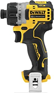 "DEWALT DCF601B Xtreme 12V Max Brushless 1/4"" Cordless Screwdriver (Tool Only)"