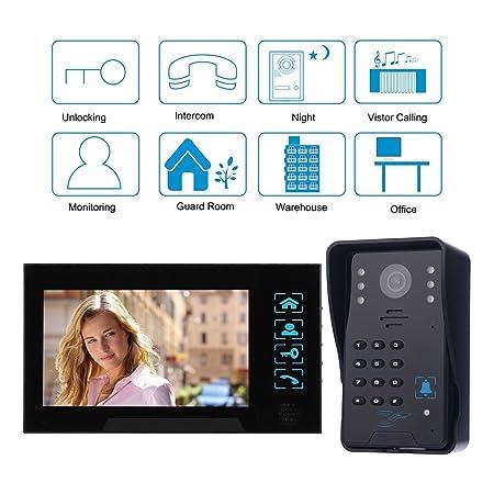 Amzdeal Door Video Camera 7 Doorbell With Camera Home Video Door