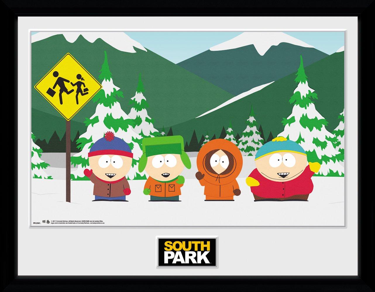 GB eye LTD, South Park, Grupo, Fotografía enmarcada 30x40 cm ...