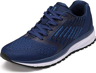 WHITIN Zapatillas de Deporte Hombres Mujer Running Zapatos para Correr Gimnasio Sneakers Deportivas Tamaño 36-47: Amazon.es: Zapatos y complementos