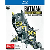 Batman 80th Movie Collection (Blu-ray)