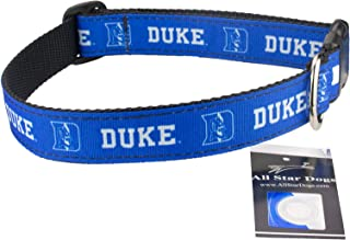 product image for All Star Dogs Duke Blue Devils Ribbon Dog Collar