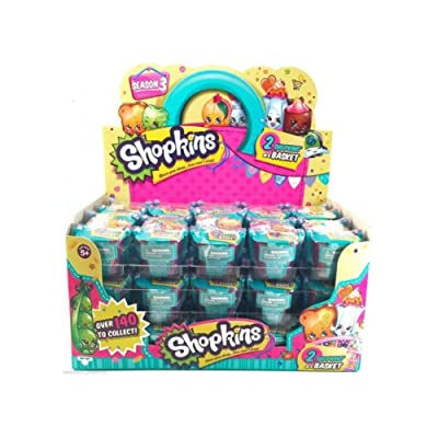 Shopkins Season 3 Case of 30 Shopping Baskets: Toys & Games