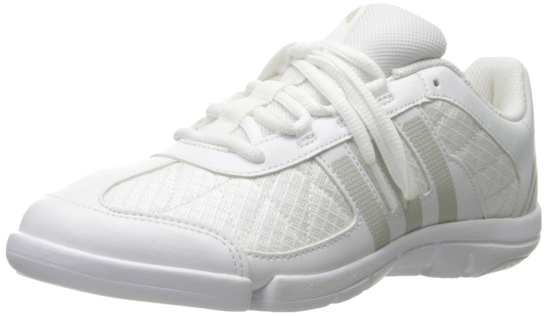 adidas Women's | Triple Cheer Cross-Trainer Shoes, White/Sharp Light Grey, ((8 M US) by adidas