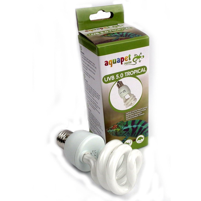 Lampada reptizoo uvb 5.0 15watt energy saving per rettili