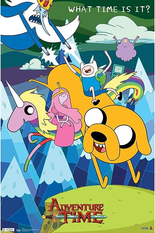 "Adventure Time Finn 17/""x26/"" poster print"