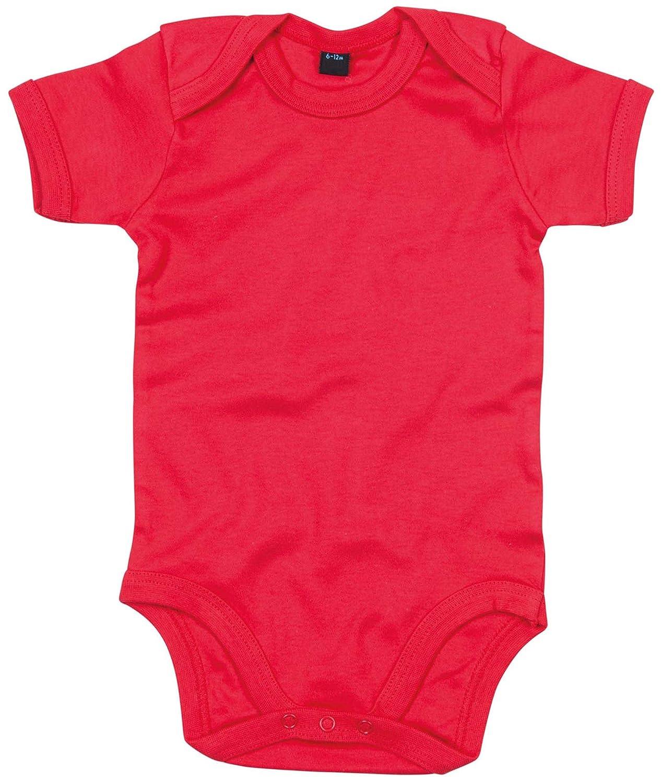 Babybugz Baby Bodysuit Blank Plain Babygrow Kelly Green 12-18 Months BZ010