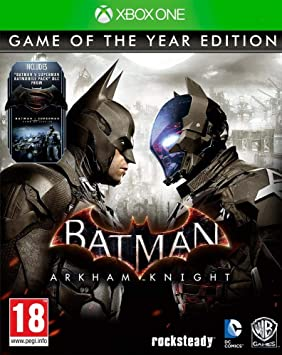 Warner Bros. Batman, Arkham Knight (goty Edition) Xbox One: Amazon ...