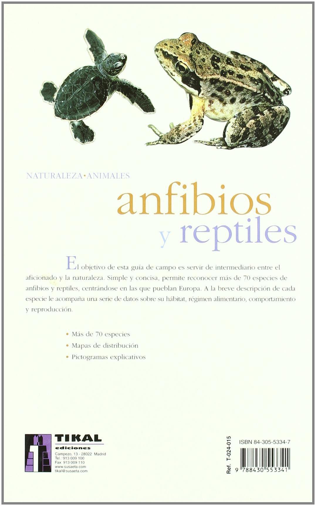 Anfibios Y Reptiles(Naturaleza-Animales): Amazon.es: Santiani, Marc: Libros