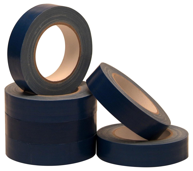 Gewebeband blau 30mmx25m 6 Rollen UV-bestä ndig Allzweck-Klebeband Steinband Universalklebeband FaMa GbR