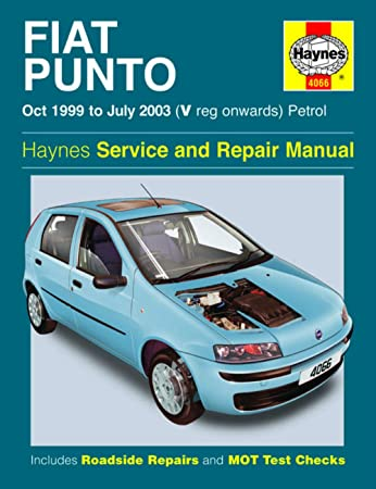 haynes fiat punto petrol oct 99 july 03 v reg onwards car rh amazon co uk punto haynes manual haynes fiat punto manual