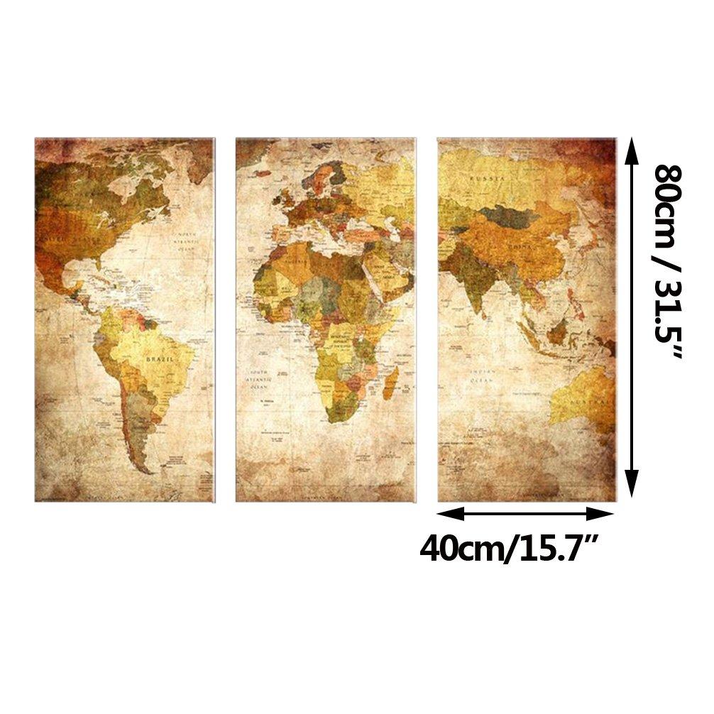 Modern Atlas Wall Art Composition - The Wall Art Decorations ...