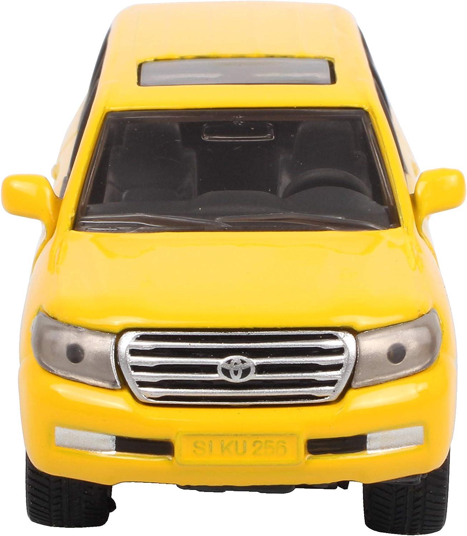 1:32 Toyota Land Cruiser SUV Die Cast Modellauto Auto Spielzeug Model Schwarz