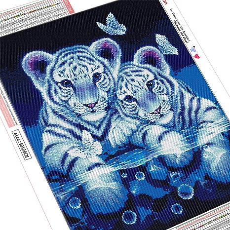 HuaCan Kit de pintura de diamantes 5D para manualidades, con broca ...