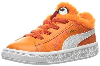 PUMA Sesame Street Basket Kids Sneaker (Toddler) d7519a768