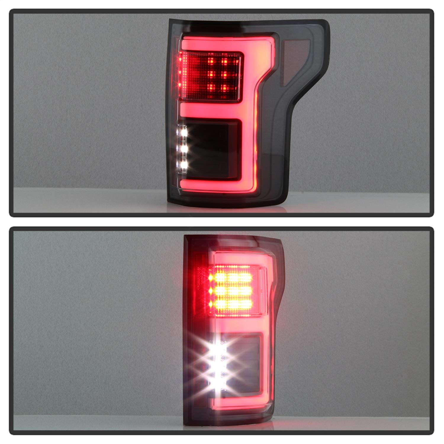 Spyder 5085313 Black Fiber Optic LED Tail Lights