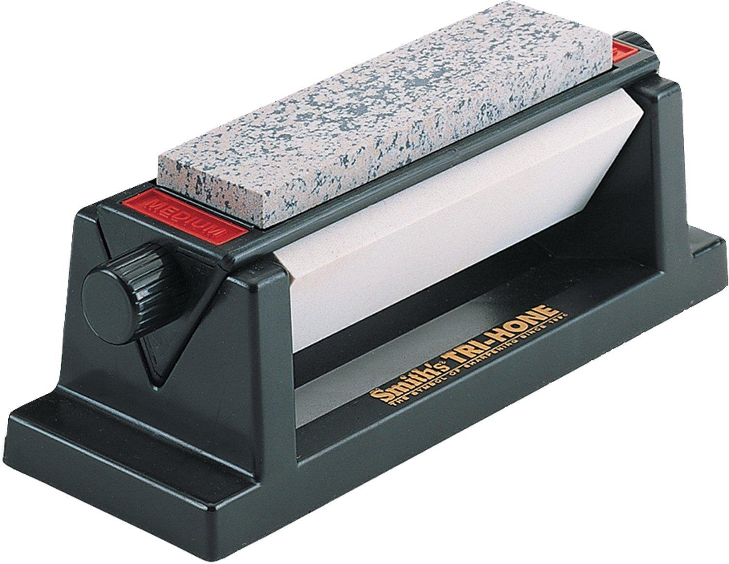 Smith's TRI-6 Arkansas TRI-HONE Sharpening Stones System review