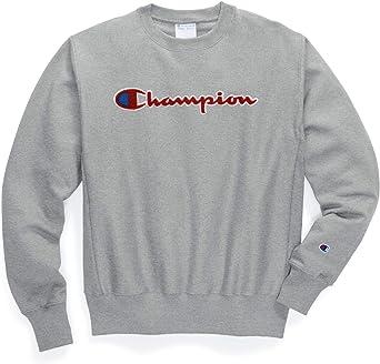 CHAMPION Short Sleeve CLASSIC Script Logo Crew Neck Athletic T-Shirt Tee New!