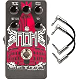 Catalinbread Royal Albert Hall WIIO RAH Hiwatt Emulation Guitar Effects Pedal with Patch Cables