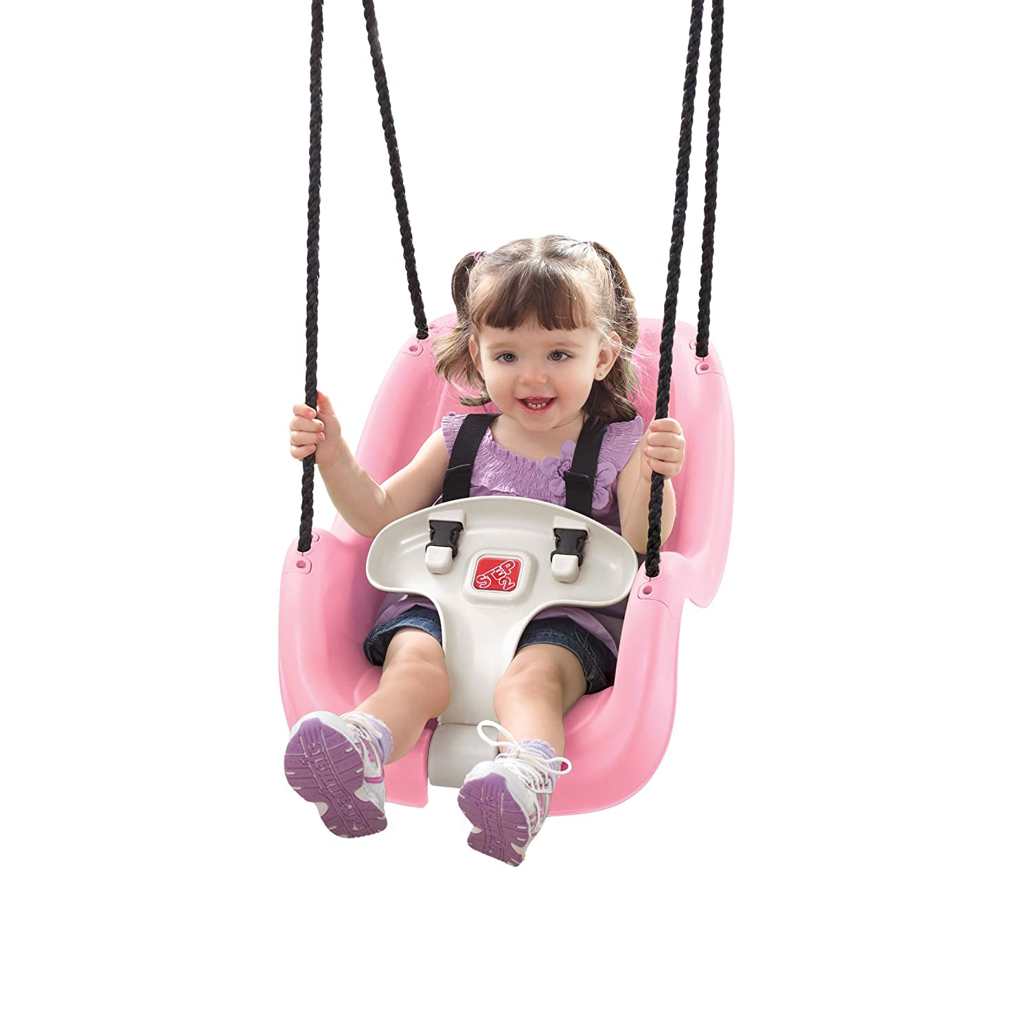 Amazon Step2 Infant To Toddler Swing Seat Pink Toys Games