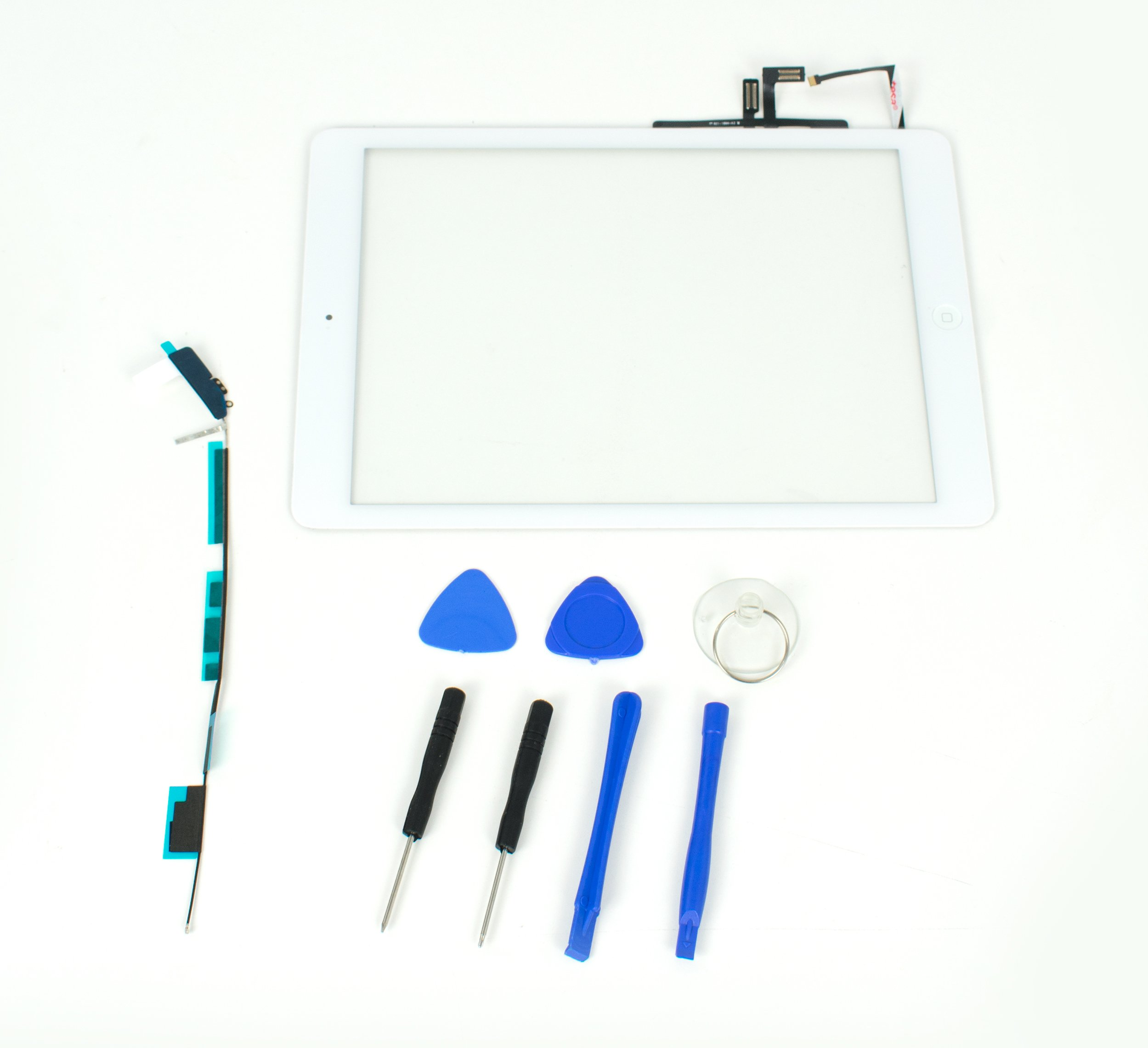 Digitizer for Apple iPad Air 1st Generation Model A1474, A1475-White