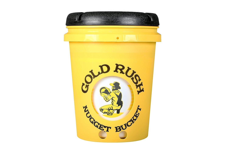 Gold Rush Nugget Bucket Bateo de oro y prospección Kit Amarillo: Amazon.es: Hogar