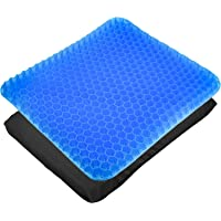 CXtech Gel zitkussen orthopedisch gelkussen ademend, ergonomisch zitkussen 42 x 35 x 3,5 cm met innovatieve…