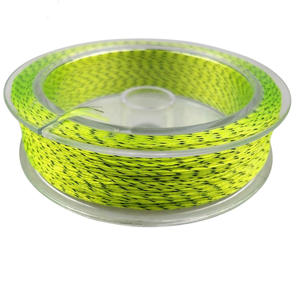 LinTimes Backing pesca con mosca línea 100m 20lb/30LB extensión trenzado línea de pesca con mosca respaldo para línea, 20LB fluo yellow