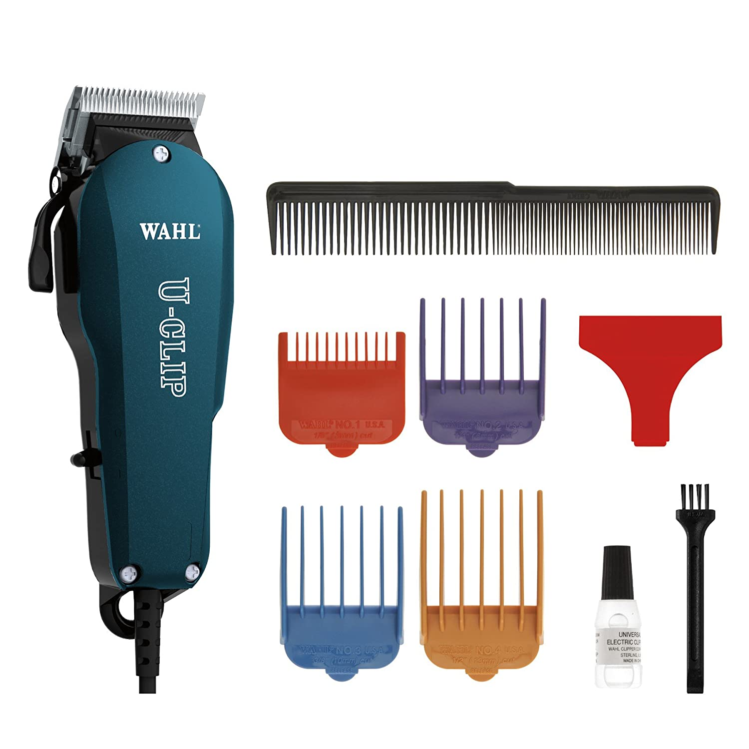 Wahl Professional Animal U-Clip Pet Clipper Trimmer Grooming Kit for Dogs Cats and Pets Hair Fur  9484-400