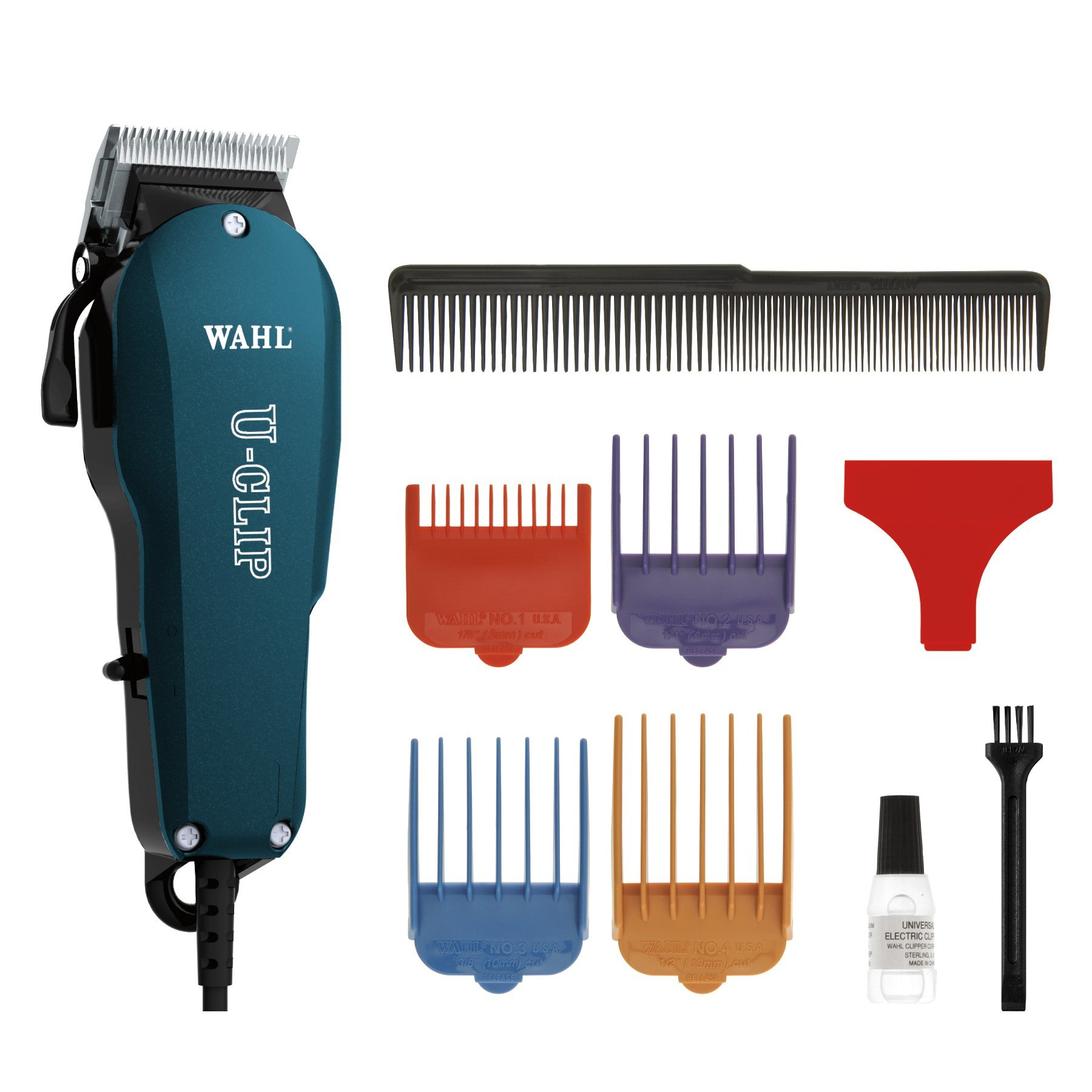 Wahl Professional Animal U-Clip Pet Clipper Trimmer Grooming Kit for Dogs Cats and Pets Hair Fur #9484-400