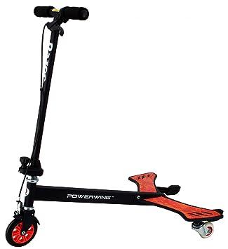 Amazon.com: Razor powerwing Unisex – Patinete, color rojo ...