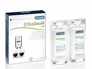 De'Longhi DLSC200 EcoDecalk Mini 2x100ml Descaling Solution