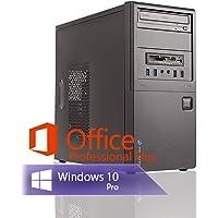 Ankermann Multimedia Work PC Intel Dual Core 2X 2.90 Ghz Garantie HD Graphic 16GB RAM 480GB SSD 1000GB HDD Windows 10 Leise Office Professional