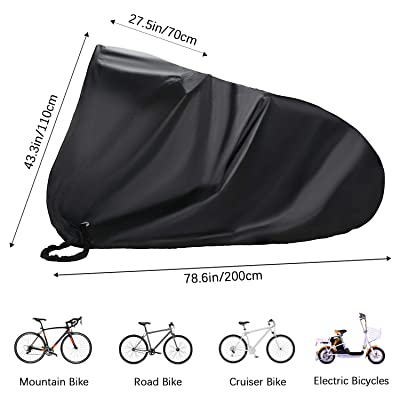 Bicycle Bike Waterproof UV Cover Mountain Cycle Universal Dust Rust Large Size