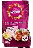 Davert - Bio Linsen-Curry Burger - 160g