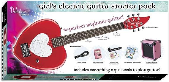 Daisy Rock 14-7013 - Kit de guitarra eléctrica, color rojo: Amazon ...