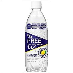 ドリンクの新商品】(機能性表示食品)炭酸水 FREE Sparkling Water W 500ml×24本