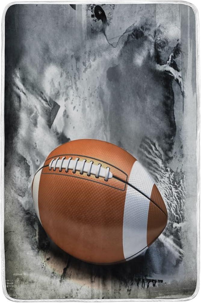 ALAZA American Football – Balón de fútbol americano vintage manta ...